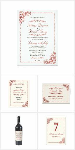 Wedding Stationery & Accessories Set 20
