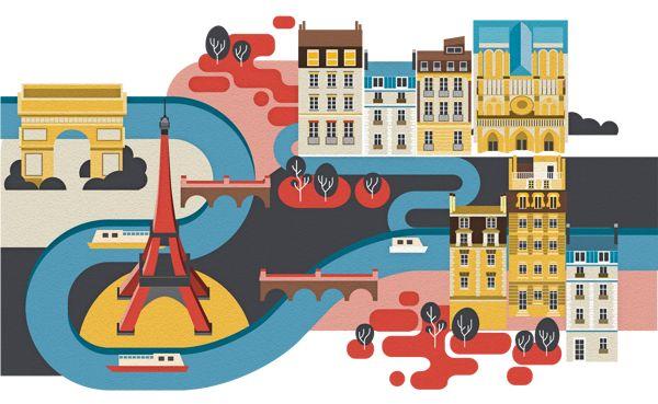 Cities on Behance