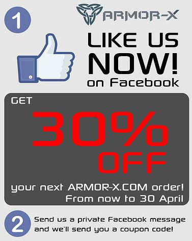 Save 30% off your order now at armor-x.com!  Just in time for Spring, get outdoors with our rugged smartphone and tablet cases and mounts! Extreme protection for all of your personal devices.