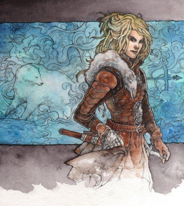 RPG character, Das Schwarze Auge, Katharina Niko, Tokala, tokala.deviantart.com
