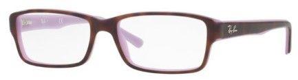 Ray-Ban Eyeglasses Optical RX 5169 5240 TOP HAVANA ON OPAL VIOLET