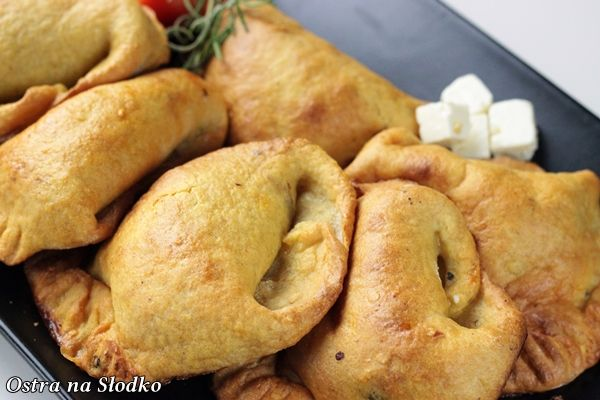pieorgi ziemniaczane , pieczone pierogi , pierogi z miesem , z serem , pyszne pieczone pierogi , ciasto na pierogi l, latwe przepisy , ostra na slodko (4)xxx