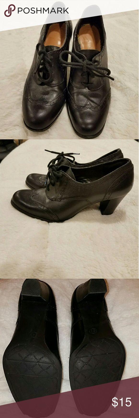 Etienne aigner black leather gloves - Aigner Women S Shoes Etienne Aignerlace Up Heelsclothing Accessoriesoxfordswomen S Shoesblack Leather