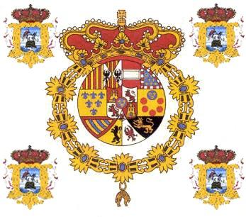 Bandera del Regimiento Fijo de Puerto Rico, siglo XVIII
