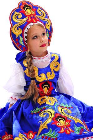 Короткие народные костюмы для девушек