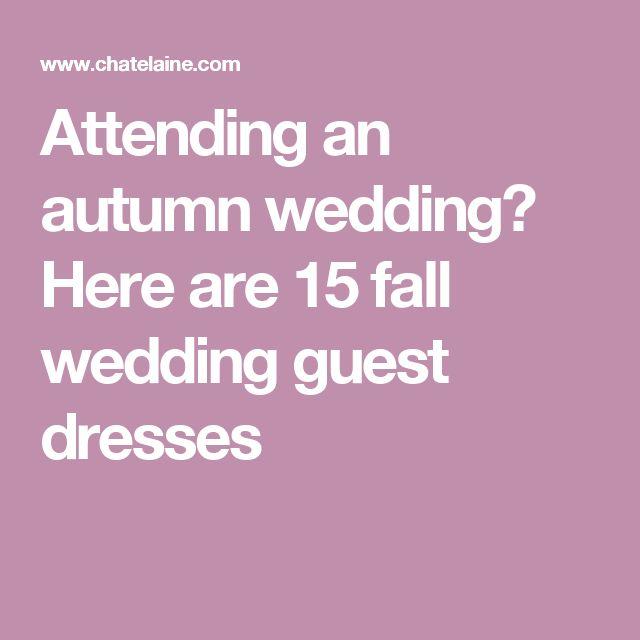October Wedding Guest Dresses for 2018