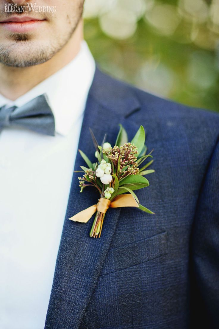 25+ best ideas about Groom boutonniere on Pinterest ...
