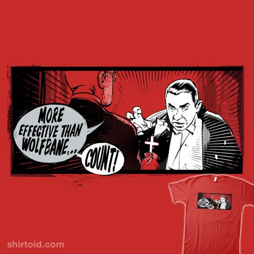 Dracula-MORE EFFECTIVE THAN WOLFBANE!