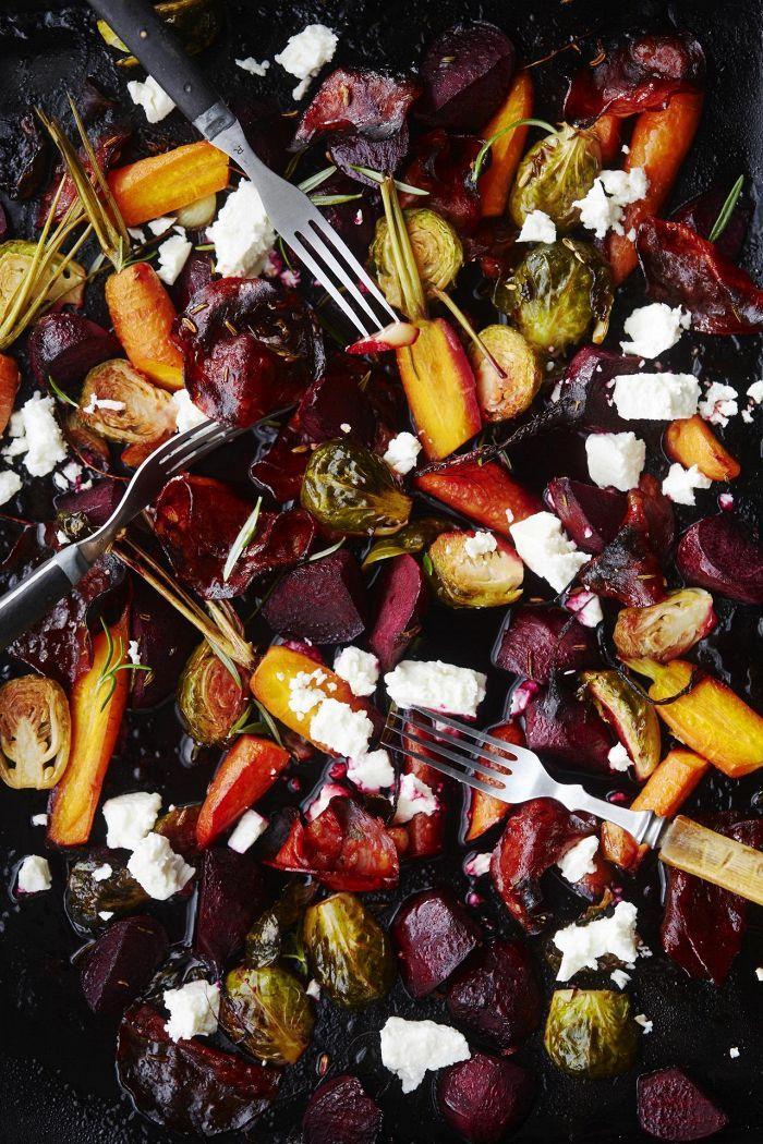Paahdettu syyssalaatti | Salaatit | HS