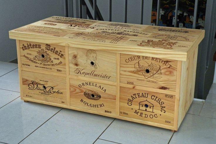 20 best einrichten und wohnen images on pinterest home for Small wine crates