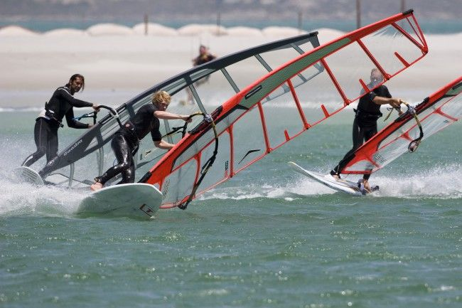 Cape Sports Center - Windsurfing in the West Coast, South Africa