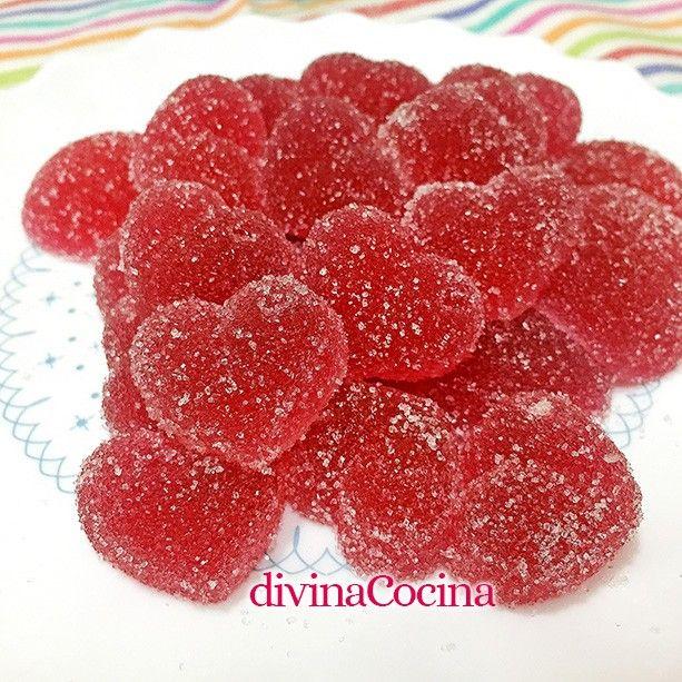 Caramelos de goma caseros fáciles | divinacocina.com