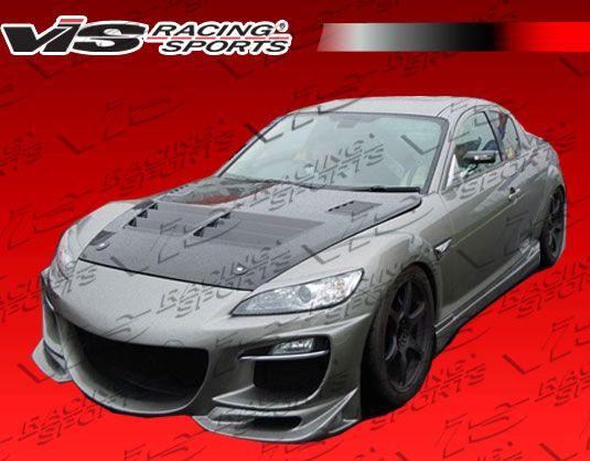 2009-2011 Mazda Rx8 2Dr Razor Front Bumper