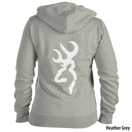Browning Womens Full-Zip Logo Hoodie - Gander Mountain