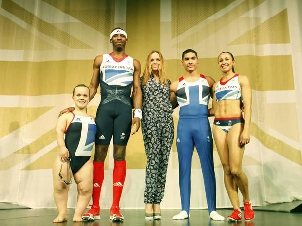 Team GBs Stella McCartney  design gear for the Olys...CANNOT waittttt....