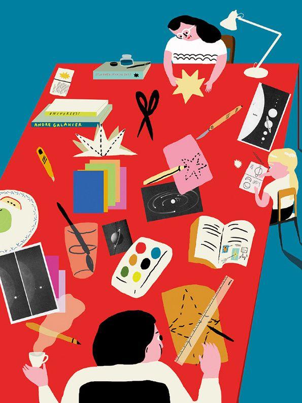 Unadulterated joy courtesy of Oslo illustrator Mari Kanstad Johnsen