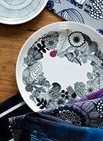 Oiva tableware from Marimekko