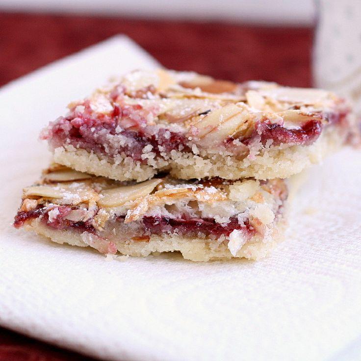 Raspberry Almond Bars | Cookies / Bars | Pinterest