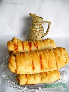 Painici umplute pentru mic dejun Cum se fac painicile umplute