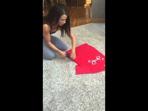 Sarah Bowmar Tshirt Tutorial - YouTube
