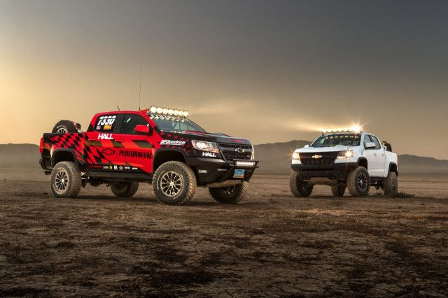 Chevrolet Colorado Zr2 Owners Now Have An Arsenal Of 15 Factory Race Parts At Their Disposal Chevy Announced Tuesday It Has Launched A Catalog Of Race Tested P