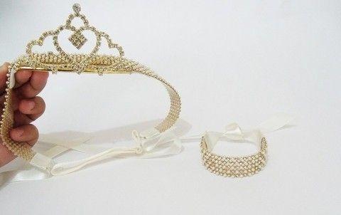Faixa princesa coroa