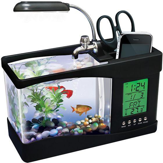 desktop aquarium cool concept but i think id accidentally stick my phone - Kopfteil Des Aquariums