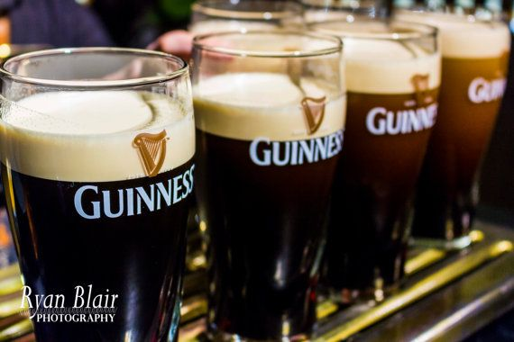 Beer Ireland Fine Art Photograph - Pints of Guinness Glossy/Pearl/Lustre Fine Art Print