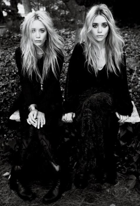 Mary Kate & Ashley Olsen -Can they just dress me? We are the same height!