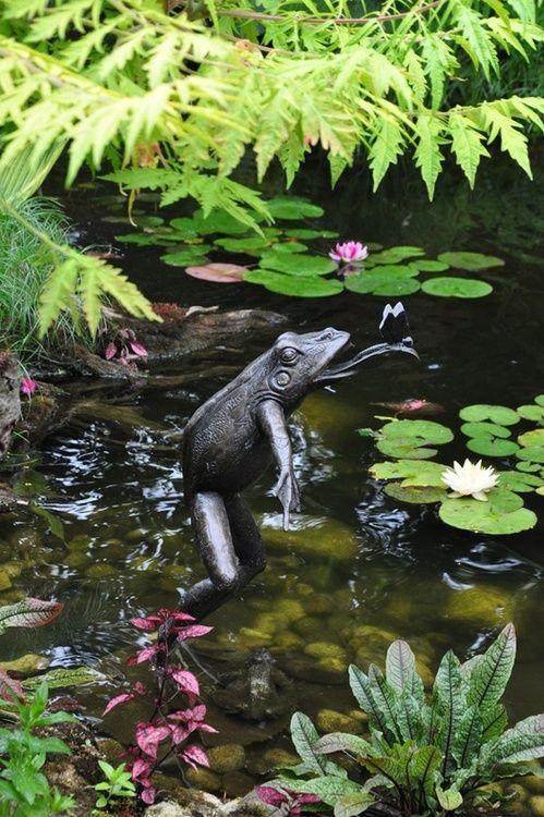 Garden Pond Ornaments - Garden Inspiration