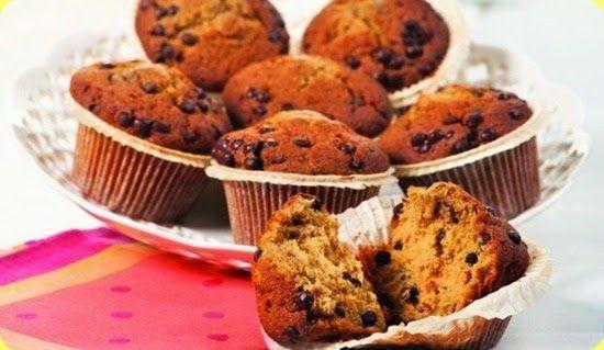 Muffin alla banana per celiaci.