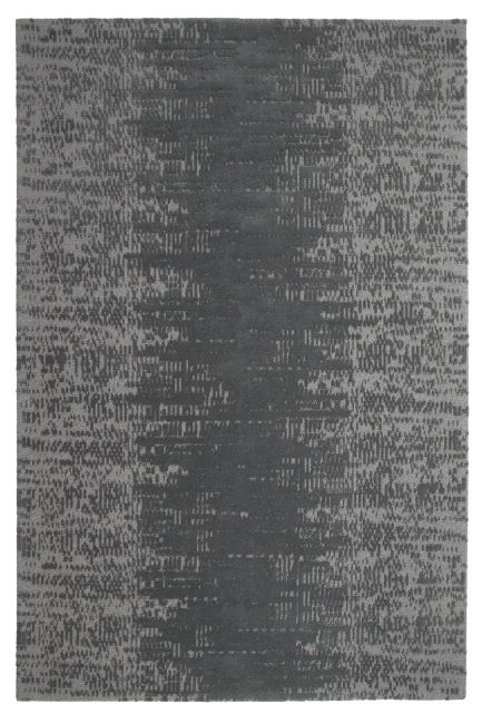 A top shot of 'Maestro Matrix - Phantom' by Limited Edition. Maestro is made out of wool and silk. | www.le.be | Collection 2015 #bespoke #rugs #carpets #madeinbelgium #soft #darkgrey #tufted