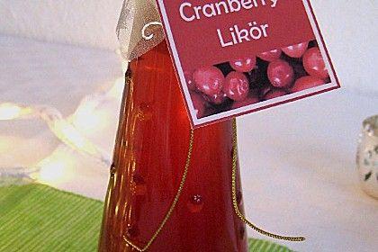 Angys Cranberries - Likör (Rezept mit Bild) von Angy2706 | Chefkoch.de