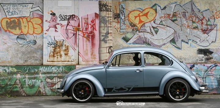 Markus Rehrmann's German Look '69 Bug, 200HP Subaru motor and Super Beetle (1303) suspension