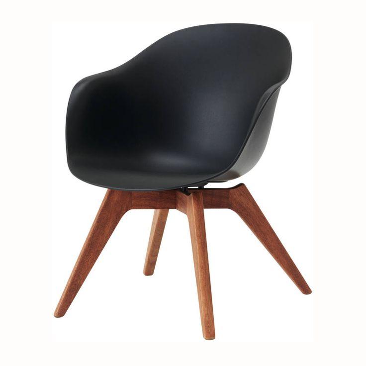 15 must see chaise noire pins chaises noires chaise de cuisine design and - Chaise cuisine noire ...