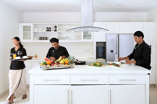 Villa Asante - Fully equipped kitchen - Canggu