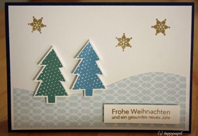 Karte für Weihnachten / chrismas card / echo park