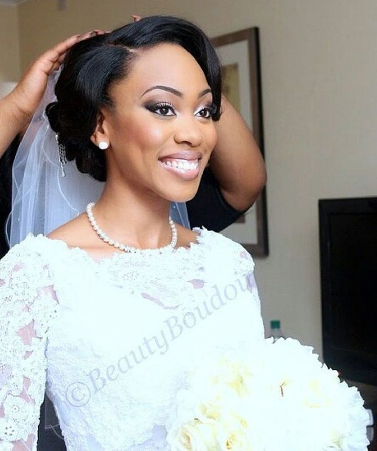 Memorable Wedding Ideas: 75 Stunning African American Wedding Hairstyle Ideas For