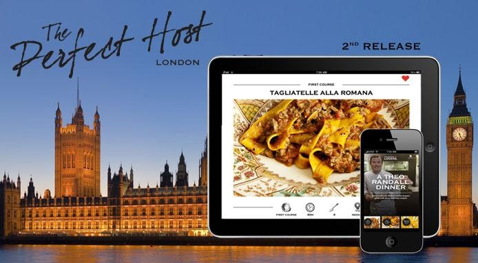 Chef Theo Randall Signs 'The Perfect Host' App New Release