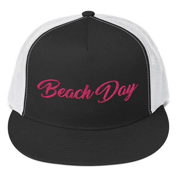 Casquette Beach Day Snapback Hat Trucker Hat