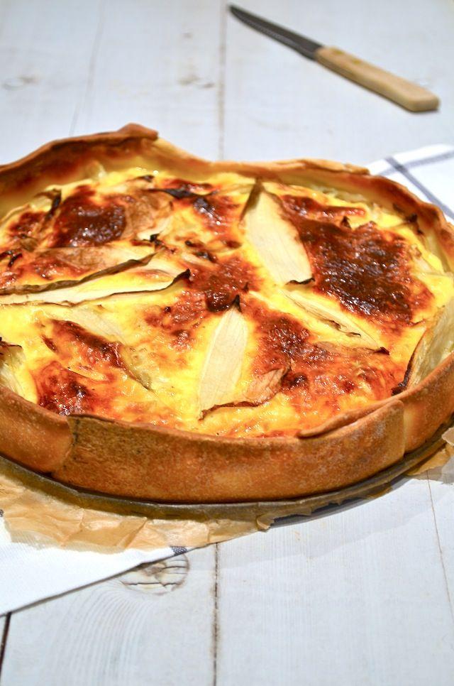 Makkelijke Maaltijd: Hartige taart met witlof - chicory pie