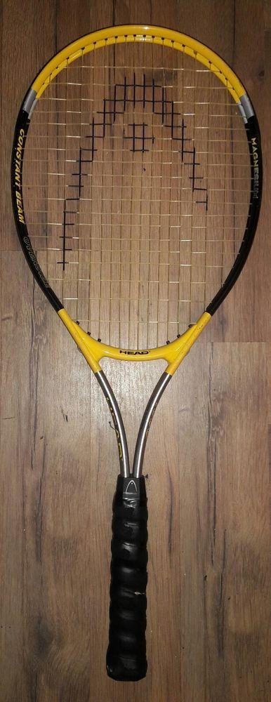 Head Racquet Magnesium 1000 Constant Beam Oversize L3 4-3/8 Grip Tennis Racket   Sporting Goods, Tennis & Racquet Sports, Tennis   eBay! #Sports #Wilson #Tennis #wilsontennis #tennisracket