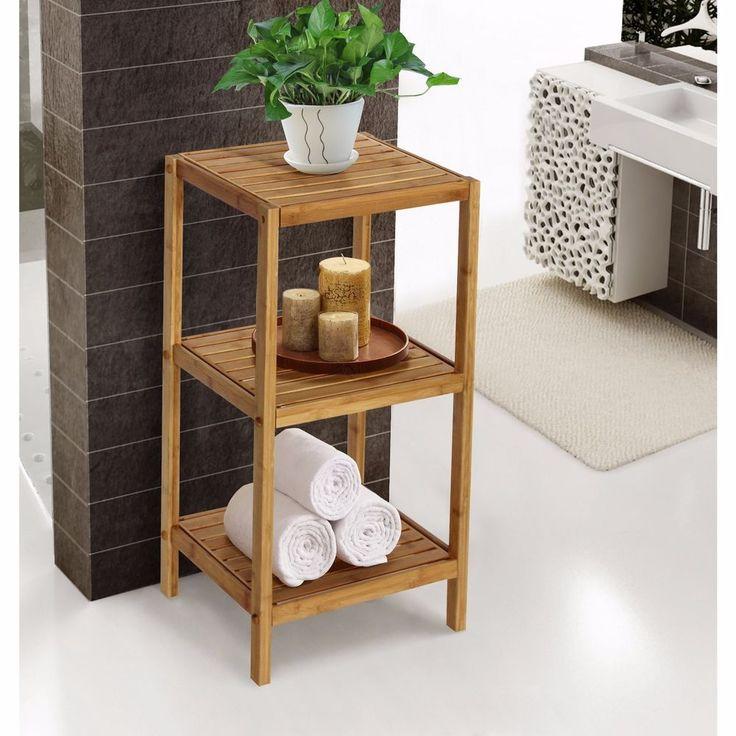 28 best Bamboo Bathroom Storage images on Pinterest | Bathroom ...