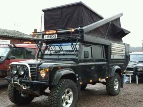 //Landrover Defender 130 expedition vehicle