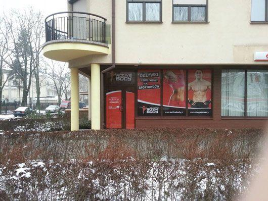 A tak wygląda nasz sklep na ul. Wróbla 2. Jakby ktoś był w pobliżu to zapraszamy serdecznie.