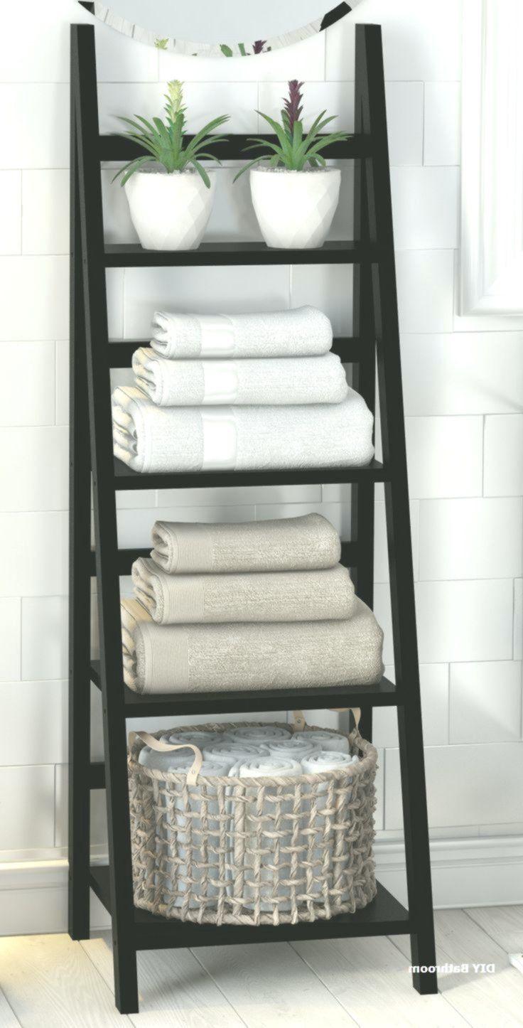 28 Ideen zur Aufbewahrung kleiner Badezimmer um Unordnung zu beseitigen