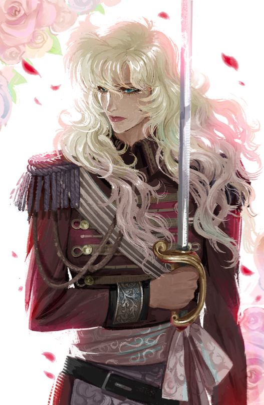 Lady Oscar, Rose of Versailles by Ami Thompson