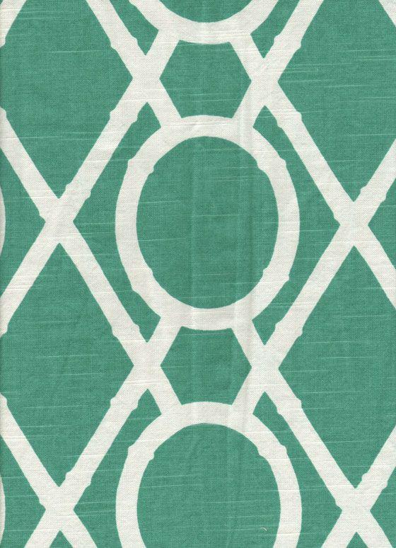 Four Seasons fabric Grade 4 Bamboo/Pool linen