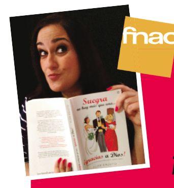 """Bloguera Flor Enjuto presenta """"Suegra no hay más que una… ¡gracias a Dios!"""" mañana 22/04 19.00h en FNAC en Málaga https://www.facebook.com/notes/la-esfera-de-los-libros/bloguera-flor-enjuto-presenta-suegra-no-hay-más-que-una-gracias-a-dios-mañana-22/10153265059581303"""