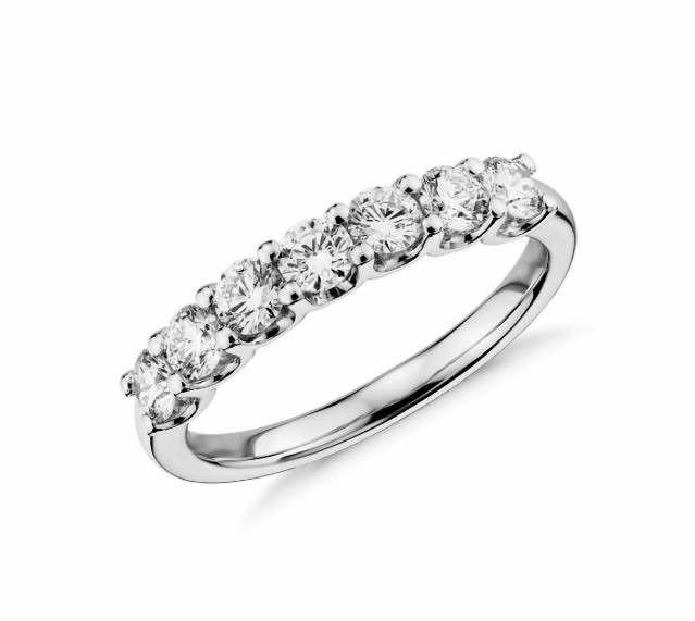 7 diamonds band (wedding, anniversary)